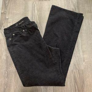 Ann Taylor LOFT Pants 14 Gray Corduroys Yn42